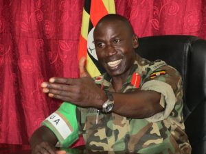 Brigadier General Ondoga may think it is hellish, but he says it with a smile