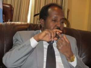 President Mohamud is a man tasked to do the incalculable job to do the incalculable job of re-building Somalia