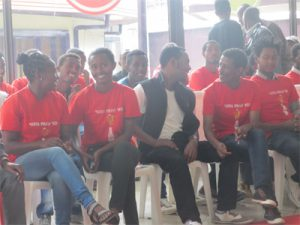 Students supported by Coca Cola
