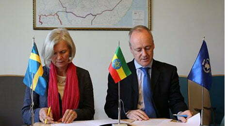Sweden donates US$ 16 million to drought affected Ethiopia