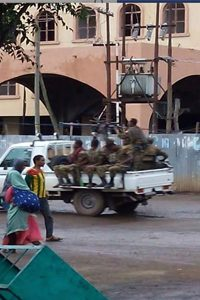 Gondar heavy security