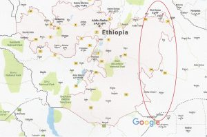 Oromia - Somali border map new
