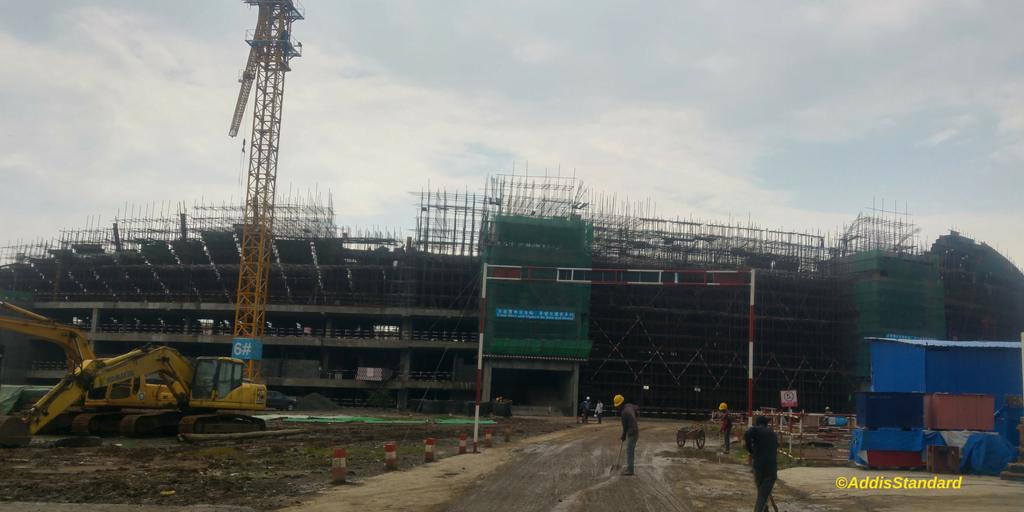 News: Fire at biggest stadium construction site in Ethiopia