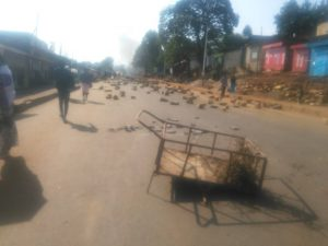 Anti-government protests Dembi Dolo and Nekemt in western Ethiopia 2
