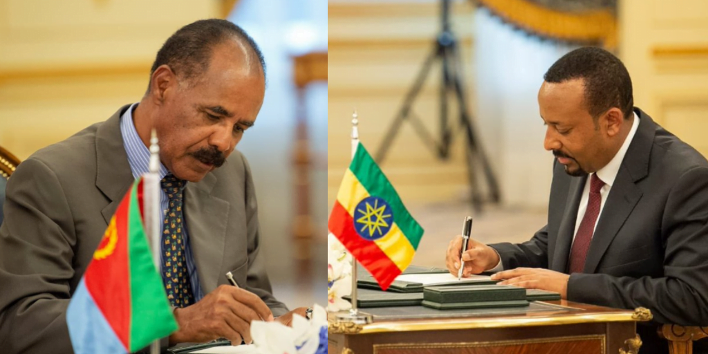 Full Text Of The Ethio Eritrea Agreement Signed In Jeddah Addis