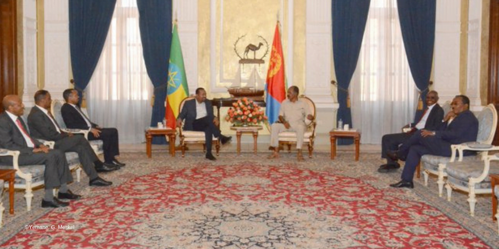 News: PM Abiy in Asmara for a two day working visit - Addis