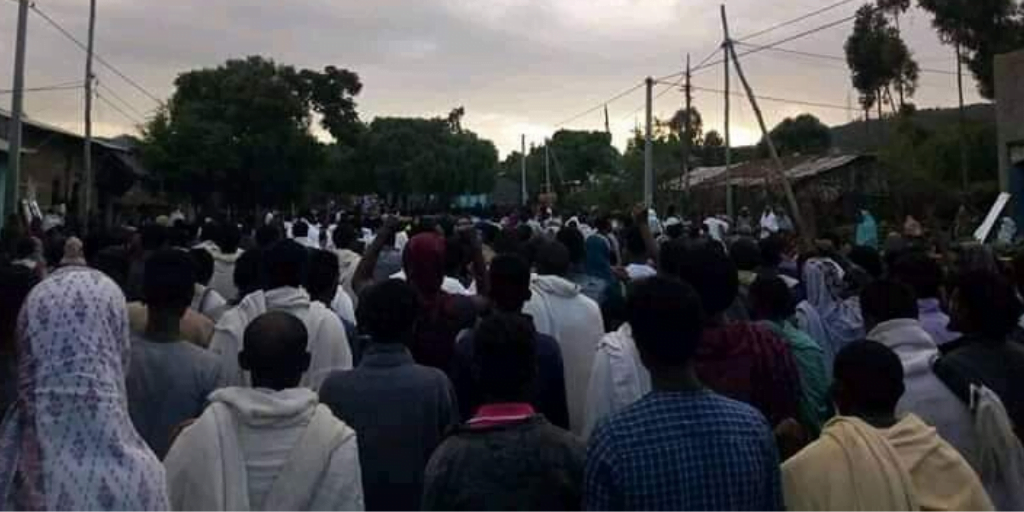 News: Rare protests in Tigray region remain on and off