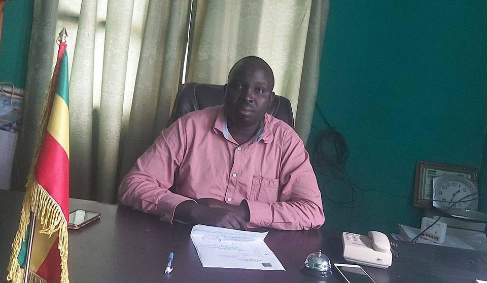 Gashu Duggaz, Benishangul Gumuz Regional State Peace Building and Security Bureau Head. (Picture: Metekel Zone Government Communications Office)