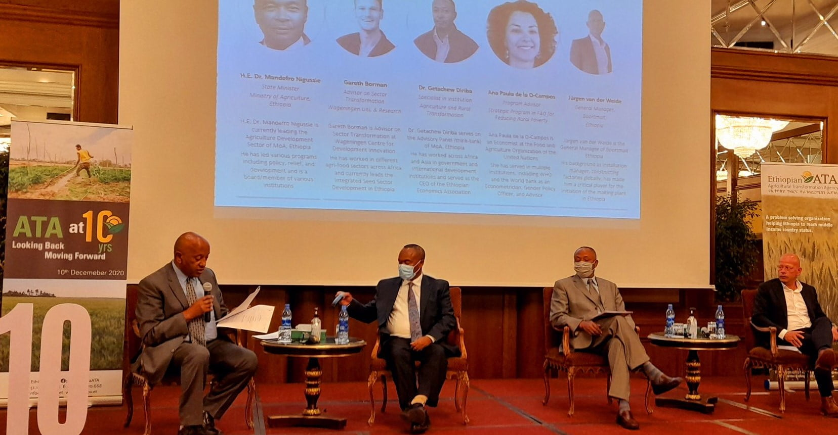 News: The Ethiopian Agricultural Transformation Agency presents its business model, impact and 10-year strategy