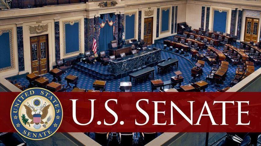 logo for the Senate