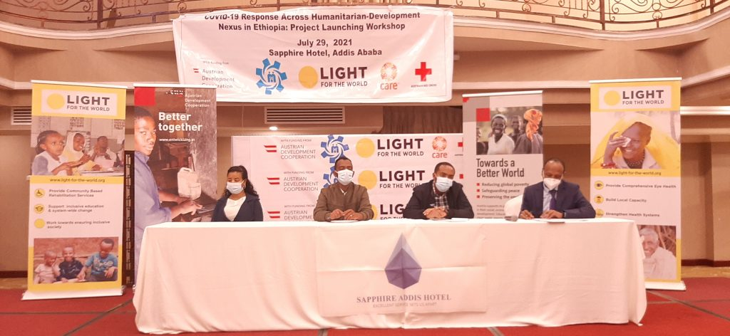 News: Light for the world in collaboration with local, International partners launches a Covid-19 related humanitarian response project